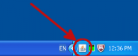 Image of Java icon in Windows taskbar